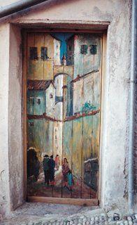 Valloria, Borgo