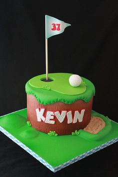Golf cake   Flickr - Photo Sharing!