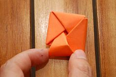 Fold Paper Into a Secret Note Square - wikiHow. I didn't actually do this, I just thought it was cool.