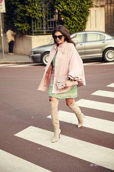 Уличная мода: Лучшие образы из модных блогов за неделю: Вита Ковалева, Alexandra Pereira, Marcel Floruss и другие