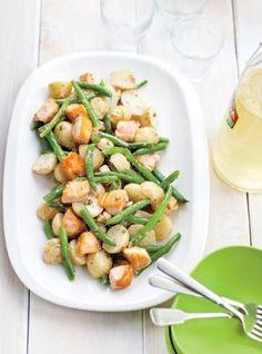Salade de pommes de terre et de saumon   RICARDO
