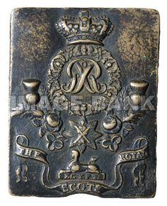 Shoulder Belt Plate (Royal Scots) Regiment of Foot Badges, British Uniforms, War Of 1812, Commonwealth, Tartan, Army, Swords, Regency, Fig