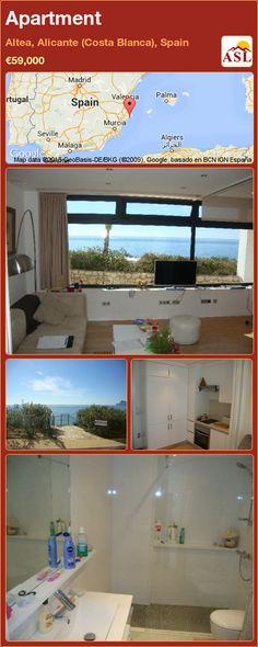 Apartment for Sale in Altea, Alicante (Costa Blanca), Spain - A Spanish Life Alicante, Appartments For Sale, Apartment Needs, Murcia, Seville, Malaga, Madrid, Spanish, Coast