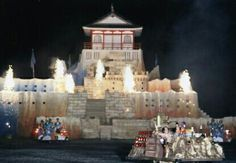 Funny pictures about Takeshi's castle. Oh, and cool pics about Takeshi's castle. Also, Takeshi's castle.