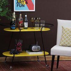 MESA LATERAL BROTO - AMARELO - MID - BAR BROTO- AMARELO. #mesa #table #decorate #decoratingideas #design #Enjoymid #moveis