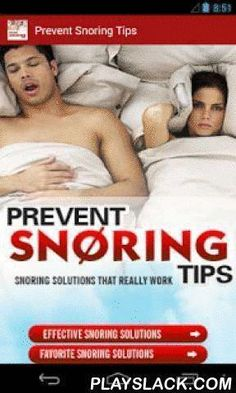 *** Snoring is loud, disruptive, and quite possibly dangerous and can stem from several reasons, so here we develop a new application Prevent snoring Tips. ***Snoring is a fairly common affliction, af Cure For Sleep Apnea, Sleep Apnea Remedies, Insomnia Remedies, Trying To Sleep, How To Get Sleep, Circadian Rhythm Sleep Disorder, Home Remedies For Snoring, Prescription, How To Stop Snoring