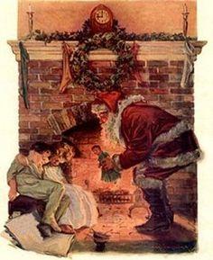 Christmas Vintage Postcards### I haved loved them since I was a kid!