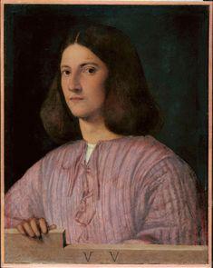 Giorgione (attr.), Ritratto d'uomo, 1500 ca. - Museo di Belle Arti, Budapest - photo © Museo di Belle Arti, Budapest - courtesy Royal Academy of Arts, Londra