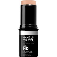 Ultra HD stick foundation ❤ liked on Polyvore featuring beauty products, makeup, face makeup and foundation
