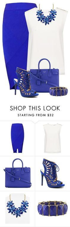 """""""Untitled #105"""" by crissgab12 on Polyvore featuring Finders Keepers, Yves Saint Laurent, Qupid, Kate Spade and 1928"""