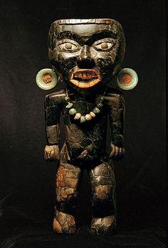 Teotihuacan statuette (150 - 450 AD circa)