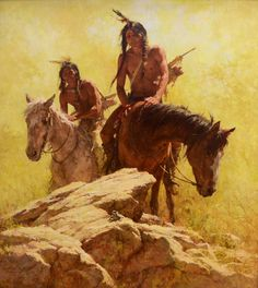Find the Buffalo by Howard Terpning kp