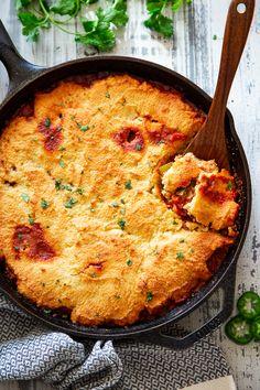 Healthy Cornbread, Honey Cornbread, Chili And Cornbread, Quick Paleo Meals, Paleo Recipes, Easy Meals, Healthy Comfort Food, Eating Healthy, Healthy Living