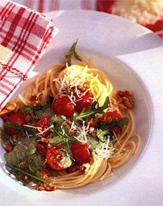 Rezept: Gorgonzola-Rauke-Sauce - [LIVING AT HOME]
