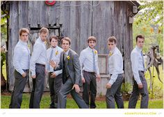 Keep it fun for the groomsmen