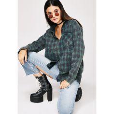Paint Splatter Flannel Shirt ($35) ❤ liked on Polyvore featuring tops, flannel shirt, paint splatter top, flannel top, flannel button-down shirts and button shirt