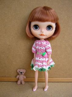 Dress for blythe doll by GarlenaShop on Etsy