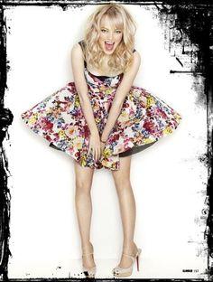 Emma Stone Fashion Style Inspiration: Glamour UK In Matthias Vriens-McGrath Lens