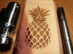 friend of mine has a laser engraving gadget at work : trees