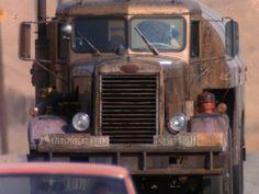 "1955 Peterbilt Model 251 ""needlenose"" used in the film ""Duel"" Antique Trucks, Vintage Trucks, Old Trucks, Classic Trucks, Classic Cars, The Rockford Files, Truck Transport, Gmc Pickup, Peterbilt Trucks"