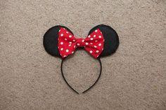 Mommy Minutes: Minnie Mouse Headband Tutorial