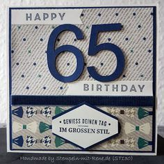 Up, Card Making, Poster, Birthday, How To Make, Cards, Birthday Numbers, Man Card, Guy Gifts