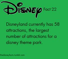 and that is why disney world will never beat disneyland