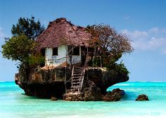 The Rock Restaurant...Zanzibar, Tanzania.