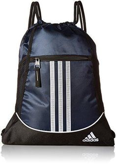 5043f165df 17 Best adidas Alliance Sack Pack Drawstring Gym Bags Unisex ...