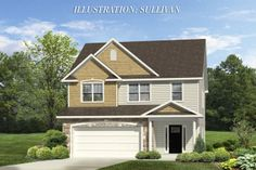 The Sullivan, a home available in the Summerwind Plantation neighborhood.
