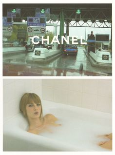 Chanel Fall 2001 by Karl Lagerfeld campaign