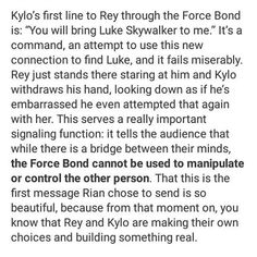 Not a huge reylo person but this is interesting <<< Reylo is now a battleship. Jump on before you're left behind. #starwars #reylo