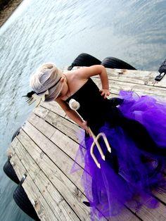 Little Mermaid Ursula Halloween Costume Idea. LIKE THIS!!!!