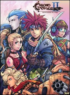 Chrono Trigger 2 - Defenders of Time Artist Unknown