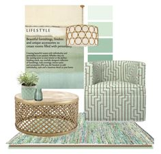 """""""LIFESTYLE"""" by southernpearldesigns ❤ liked on Polyvore featuring interior, interiors, interior design, home, home decor, interior decorating, Jayson Home, Williams-Sonoma, modern and mint"""