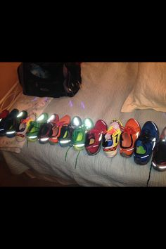 The line up.,,