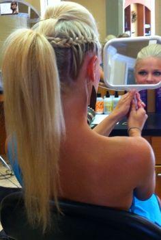 Top 9 Undercut Ponytail Hairstyles