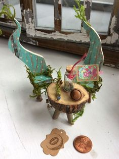 Fairy's Work by Olive Miniatures Fairy Table and