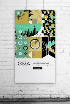 インスピレーション湧きそう。フラットでオシャレなポスターデザインいろいろ – Flat Poster Design
