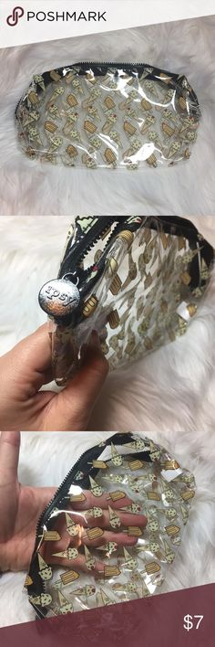 Ipsy May 2017 makeup bag new clear ice cream IPSY Ice Cream Cone Glam Bag Cosmetic Makeup Pouch May 2017 - Bag only  Perfect to throw in your beach or travel bag! see through Makeup Brushes & Tools