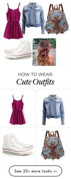 """school outfit"" by annawinslow on Polyvore"