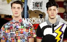 #MANIMATION - A video by Luca Finotti for Moschino Uomo Spring/Summer 2014 