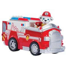 Paw Patrol Marshall's Firetruck, Vehicle and Figure