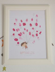 deco bapteme fille rose montgolfiere dore arbre à empreinte Bebe Shower, Baby Boy Baptism, Creative Pictures, Happy Kids, Birthday Decorations, Christening, First Birthdays, Crafts For Kids, Projects To Try