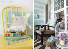 this is a back porch! LOVE! Inspiring Designs   The Lettered Cottage