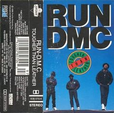 Weekly Inspiration Dose 086 - Indieground Design Run DMC - Tougher Than Leather Design Typography, Graphic Design Posters, Graphic Design Inspiration, Run Dmc, Album Design, Lp Cover, Cover Art, Music Covers, Album Covers
