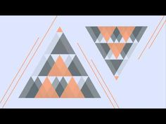 Geometric animation by Jessie Raijmakers - YouTube