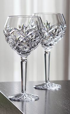 Waterford Huntley Wine Balloon Glasses from Crystal Classics