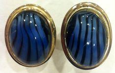 VINTAGE Black and Blue CUFFLINKS MAD MEN ERA, FORMAL WEAR, Valentine's Day!!   Jewelry & Watches, Men's Jewelry, Cufflinks   eBay!