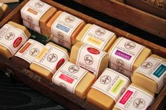 Goat Milk Soap: Perfect Gift for Mother's Day!  Handcrafted on a farm outside of Mondovi from the farm-fresh milk of Alpine dairy goats, these twice milled soaps and lotions will keep your skin clean and deli